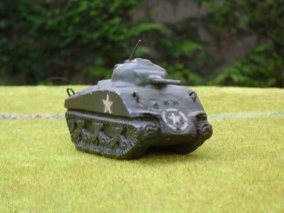 3 Sherman plâtre Belge