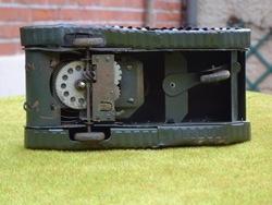 6 moteur Sherman métal