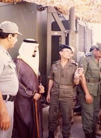 Guerre du Golfe (1990-1991) - Gal. Khaled ben Sultan (AS) - Prince Sultan, Min.Def Arabie Saoudite