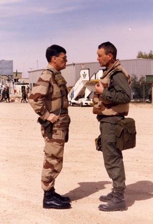 Irak (1991) - Gal. Janvier,div. Daguet - Gal. RQJ.