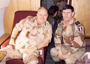 Guerre du Golfe (90-91) - Général N. Schwarzkopf(US) - Gal. RQJ