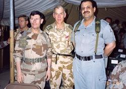 Guerre du Golfe (90-91) - Gal. RQJ.- Gal de la Blignère (GB) - Gal. Khaled Ben Sultan (AS)
