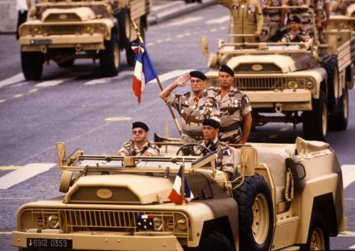 14 Juillet 1991 - Champs Elysées 1
