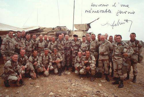Les acteurs Les acteurs de Daguet photo dédicacée par le général Schmitt CEMA