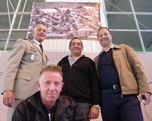 Tireur B Mazeutier, chargeur B Lloret, Chef de P.on Lt Jacques Ducros, pilote 1e Cl. Frédéric Vuillaume