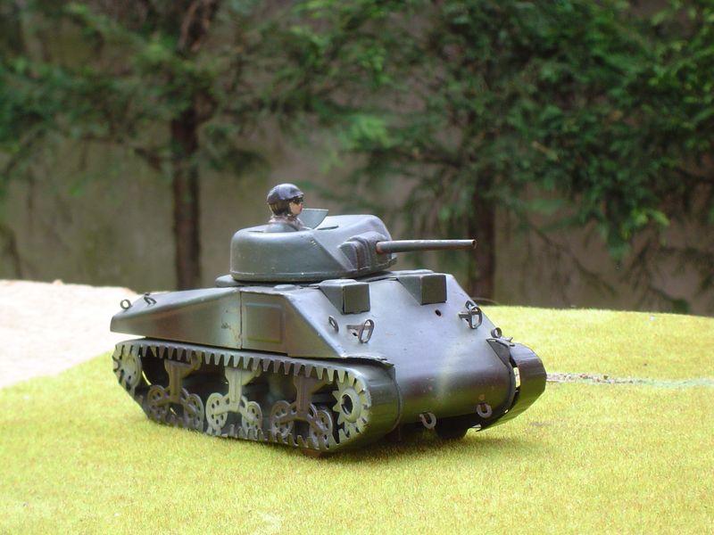 5 Sherman métal