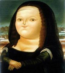 Fernando Botero, Mona Lisa, 1963