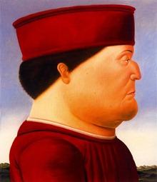 Fernando-Botero-After-Piero-della-Francesca-1998