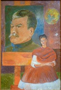 Stalin y Frida - 1954