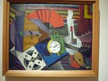 Diego Rivera, le réveil, huile sur toile, 51x63 cm - 1914