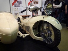 Majestic AB 350 cc 1931 avec side