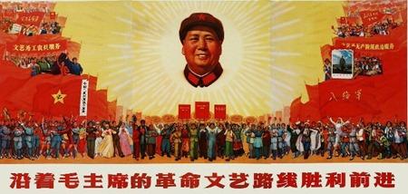 1968 en avant victorieux dans ligne révolutionnaire en art et litt.