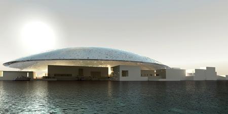 AJN Louvre AbuDhabi ext test