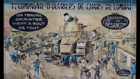 Ouvriers de chars de combat (1)