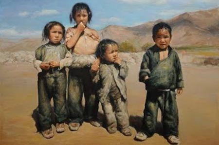 Pensées sur la planète: Lu Hui, peintre humaniste
