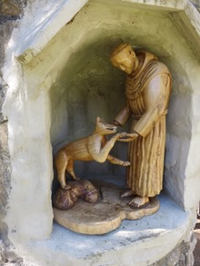 50 - St François et le loup
