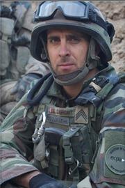 Portrait du sergent chef Dupont Sébastien.