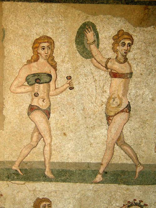 Baigneuses romaines